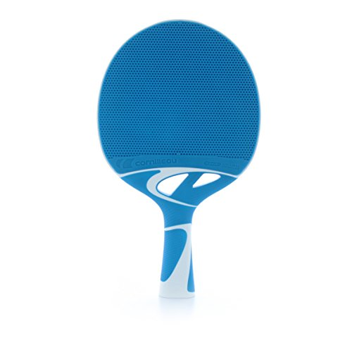 Best Buy! Cornilleau Tacteo 30 Weatherproof Racket - Blue/White