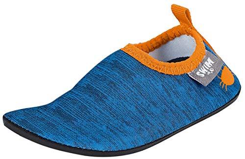 Sterntaler Baby-Jungen Aqua-Schuh Slipper, Blau, 21/22 EU