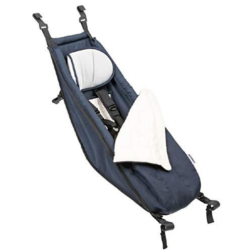 Croozer Unisex– Erwachsene Babysitz-3092024999 Babysitz, blau, One Size