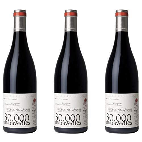 Treintamil Maravedíes Vino Tinto - 3 botellas x 750ml - total: 2250 ml