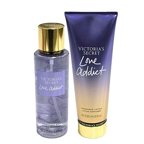 Victoria's Secret Love Addict Set Fragrance Mist Body Lotion