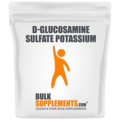 BulkSupplements.com Glucosamine Sulfate Potassium Powder - Glucosamine Sulfate 1000mg - Glucosamine Chondroitin - Joint Support (1 Kilogram)