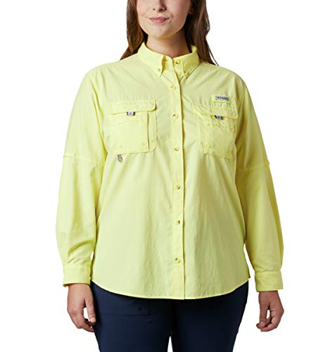 Columbia Damen Bahama Long Sleeve athletisch, Shirts, Sunnyside, X-Large