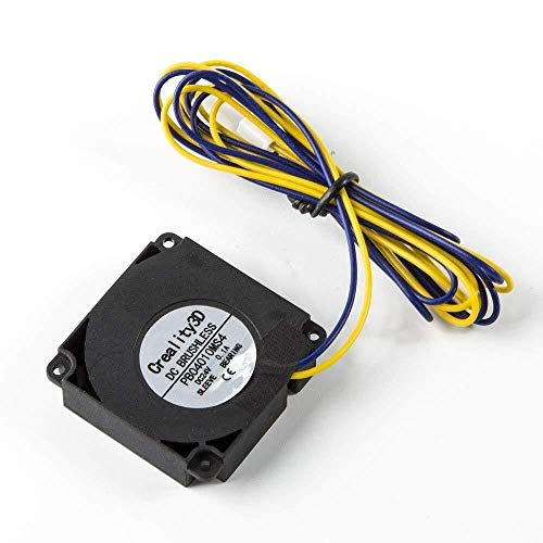 Farleshop 1pc Creality Ender 3 4010 Los Aficionados 40x40x10MM DC 24V Turbo Ventilador for Ender 3 Impresora 3D 4010 sin Cepillo soplador Ventilador de refrigeración