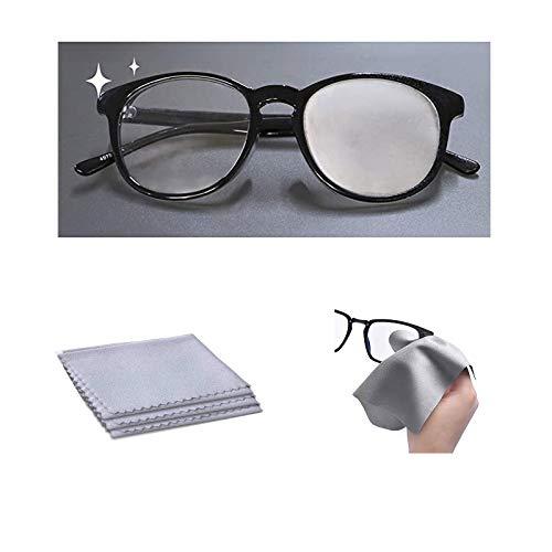 Antibeschlag Microfaser Brillenputztuch für Brillen | Bis zu 500 Mal Wiederverwendbar | Bis zu 15 Std. sofort Schutz | Schützt vor beschlagen Brillengläsern (1pc)