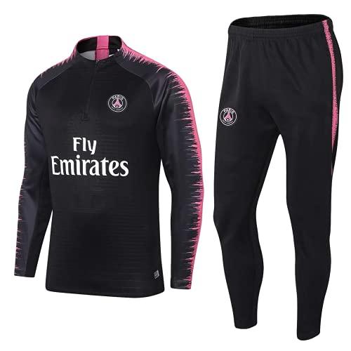 jasonlu Uniforme da Calcio Abito Sportivo Sportivo Traspirante da Uomo in Campionato Europeo Club Club Suit da Uomo (M,M)