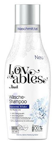 Lovables Innocent White Wäsche-Shampoo, Waschmittel, mit Micro-Oil, 5er Pack (5 x 17 Waschladungen)