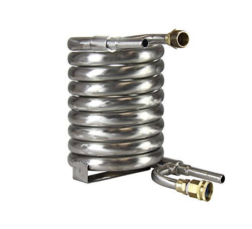 Kegco Stainless Steel Counterflow Chiller