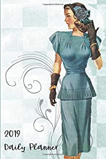 Vintage Clothing 2019 Daily Planner: 6