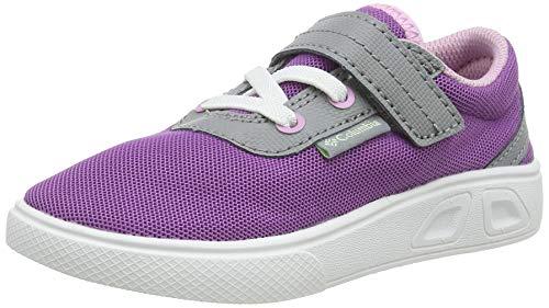 Columbia Childrens Spinner, Zapatillas Casual para Niñas, Violeta (Northern Lights, Key West), 27 EU