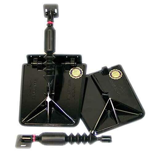 Photo of black colored Nauticus Smart SX Series Trim Tabs