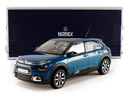 Norev NV181660 2018 Citroen C4 Cactus Kit de Modelo, Azul, Escala 1:18
