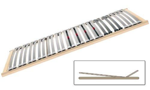 Selecta FR6 KF Flachrahmen Lattenrost mit Kopf- und Fußverstellung 90x200