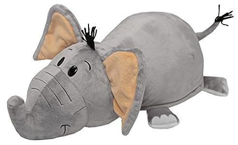 Vivid Imaginations Flip 2-en-1,Elefante/Tigre de Peluche (Multicolor)