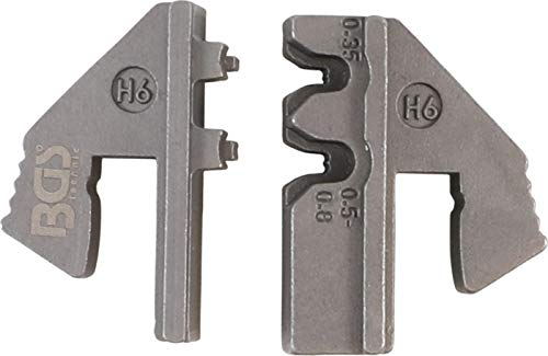 BGS 1410-H6   Mors pour connecteurs étanches à l'eau (H6)   pour art. 1410, 1411, 1412