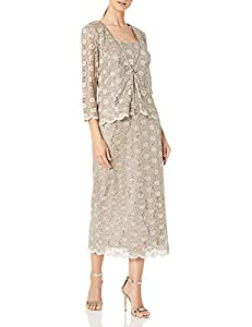 You percent sure to sparkle the night away with the shimmering sequins and elegant lace of our stylish jacket dress jacket collarless front button closure three quarter sleeves sequined Sleeveless sequined lace throughout, scalloped at hem sheath sil...
