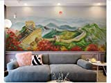 XIANRENGE Tapeten,Eigene 4D Wandbild Tapeten,Chinesische