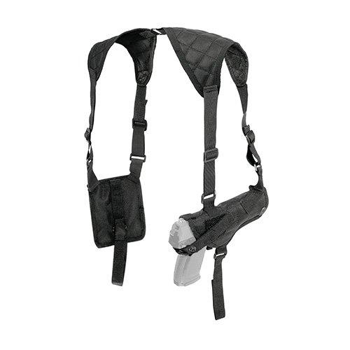 Crosman CSHB Adjustable Ambidextrous Shoulder Holster, Black