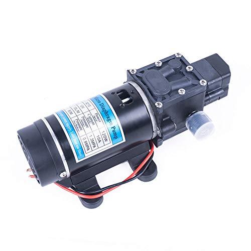 QWERTOUY 12V 24V 120W 130PSI 10L / min de Agua a presión de diafragma autocebante Bomba del pulverizador de Lavado de Coches