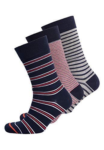 Superdry Herren Mens 3 Pack Casual Socks Socken Mehrfarbig Lrg