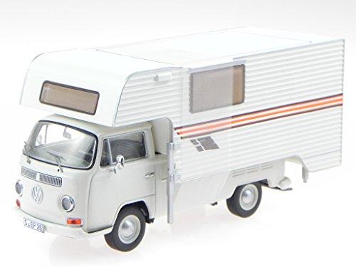 VW T2a Pritsche Camping Tischer beige Modellauto 11356 Premium C. 1:43
