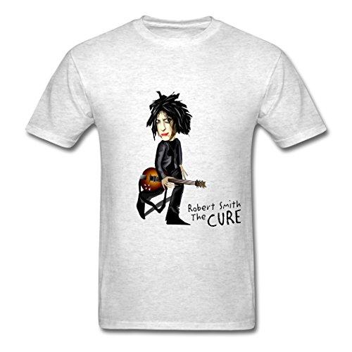 Ty La Cura Robert Logo T Shirt para Hombre Light Oxford