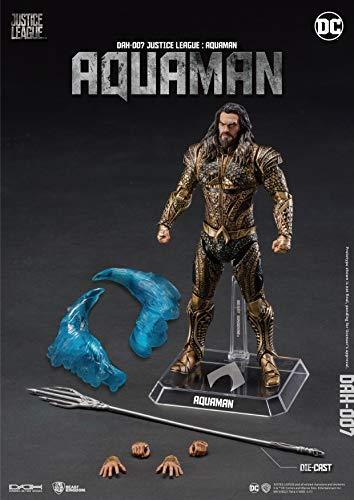 Beast Kingdom DC Comics Figura Dynamic Action Aquaman, multicolor (BKDDAH-007) 4