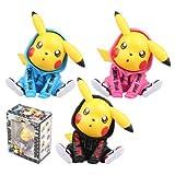 rgbh Pikachu Acción Figura De Dibujos Animados Estatuas De Dibujos Animados Juguetes Coleccionables Regalos Figura Decoración De Automóviles 12cm Set