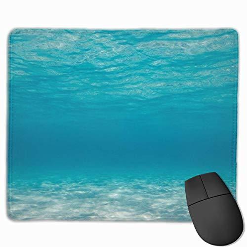 im tiefblauen Meer Rechteckiges rutschfestes Gaming-Mauspad Tastatur Gummi-Mauspad...