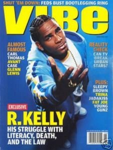 Vibe Magazine,June 2004, R Kelly cover