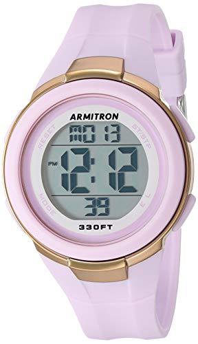 Armitron Sport Women's Digital Lavender Resin Strap Watch, 45/7126LAV
