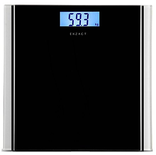 Exzact Bathroom Scale Digital/Electronic Body Scale - Large Capacity 180kg...