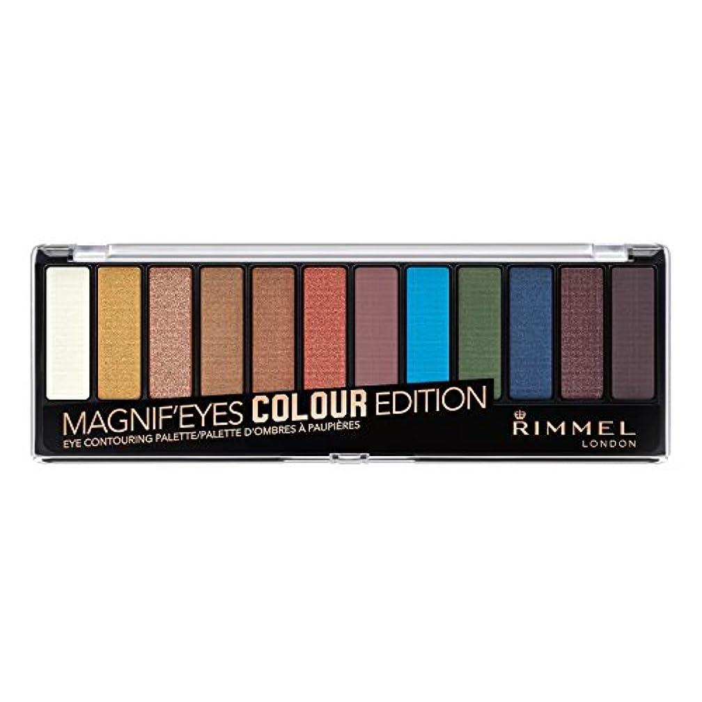 活性化する過半数しみ(6 Pack) RIMMEL LONDON Magnif'eyes Eyeshadow Palette - Colour Edition (並行輸入品)