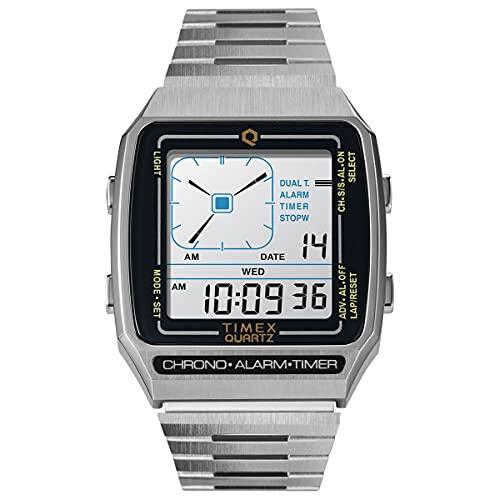 [タイメックス]TIMEX 販路限定モデル 腕時計 メンズ TW2U72400 キュー タイメックス リシューデジタル Q TIMEX Reissue Digital LCA [正規輸入品]