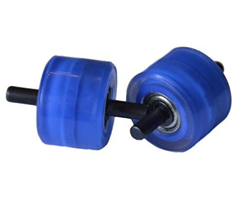 Weilisi Ersatzrollen für automatische Roll-Sneaker - Blau Farbe