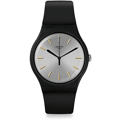 Swatch Reloj Analógico para Hombre de Cuarzo con Correa en Silicona SUOB173