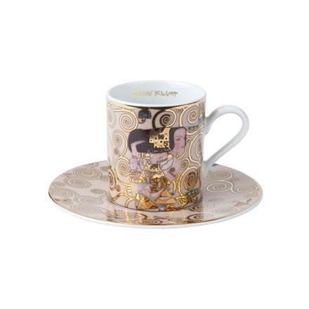 Goebel - Artis Orbis - Die Erwartung - Espressotasse - Künstler: Gustav Klimt - Porzellan