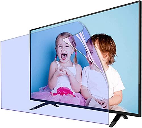 Anti Luz Azul Protector de pantalla de TV Protector De Pantalla De TV De 40-49 Pulgadas Para Sharp, Sony, Samsung, Hisense, LG, Etc. Película Antirreflectante / Anti Luz Azul / Antihuellas, Fácil De P