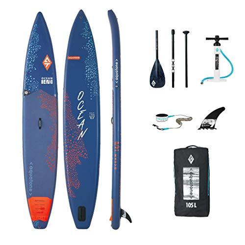 Aztron Aquatone Ocean 14.0 Carrera Touring Isup Hinchable Tabla de Surf, Stand Up Paddle 426x69x15