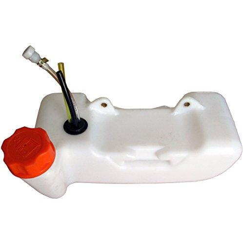 Depósito de gasolina para desbrozadora, multifunción 4en 1, herramienta sobre pértiga y ahoyador de 1persona