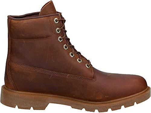 Timberland Herren 6 Inch Basic Non-contrast Waterproof Stiefel, Braun (Medium Brown Nubuck), 43 EU
