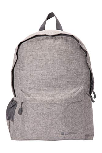 Mountain Warehouse Emprise 15 Litre Backpack - Lightweight Rucksack - For Backpacking & Gym Grey