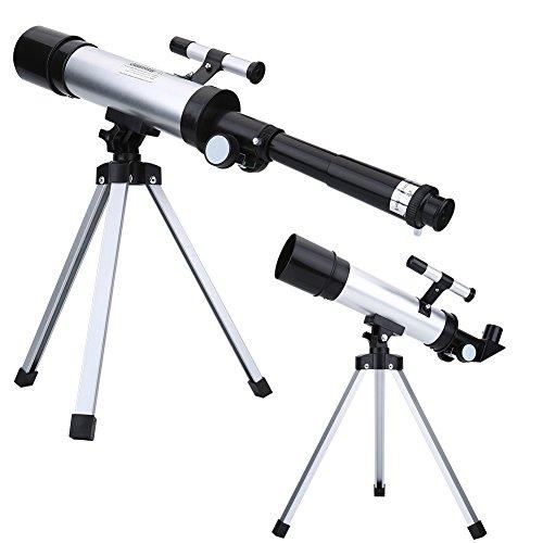 EBTOOLS Refractor astronómico refractivo del Alcance del Espacio refractivo del telescopio monocular de Alta definición 90X