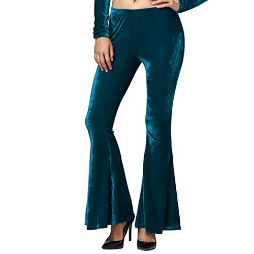 Emmala vrouwen Retro Flared Broek Slim Broek Leggings Fluwelen Palazzo Broek Jeggings Fashion Living Party Outfits Bell Broek