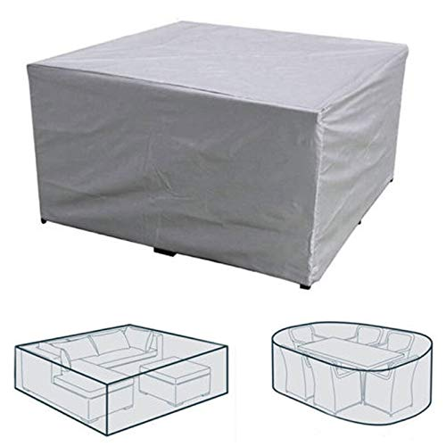 Tarp Tarpaulin Outdoor Cover Waterproof Furniture Cover Sofa Chair Table Cover Garden Patio Beach Protector Rain Snow Dustproof 7 Sizes Plant Covers MDYHJDHYQ (Color : Gray, Size : A 242x162x100cm)