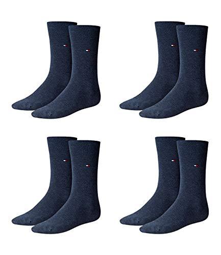 Tommy Hilfiger Herren Classic Business Socken 371111 4Paar, 39-42, 356 - Jeans