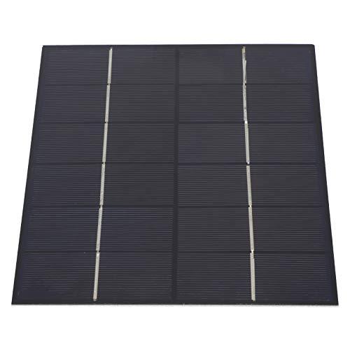 El panel solar, conveniente del cargador del panel solar 5.2W 21x16.5cm para la luz solar del juguete DC de la carga de la batería