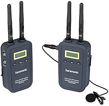 Saramonic VmicLink5 5.8 GHz SHF Wireless Lavalier System and Receiver