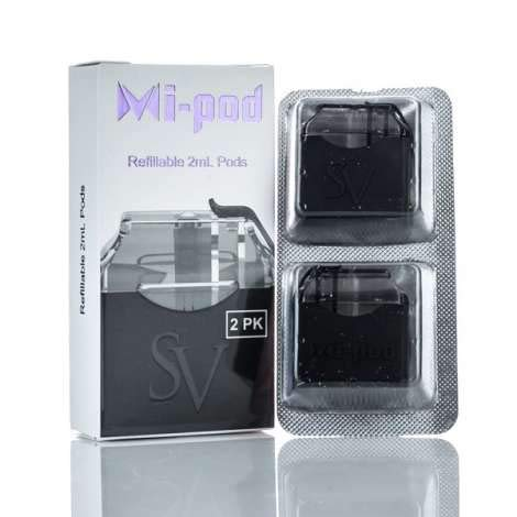 mi-pod 2 ml Cartridge 2pz Smoking Vapor Coil Repuesto