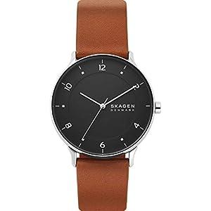 [スカーゲン] 腕時計 RIIS SKW6663 メンズ 正規輸入品 ブラウン